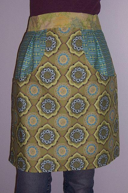 Vintage Clothespin Apron by dawnstew73, via Flickr