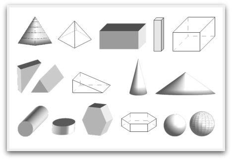3D Geometric Shapes 3D geometric shapes, 3D shapes, shapes, 3D - copy coloring pages of 3d shapes