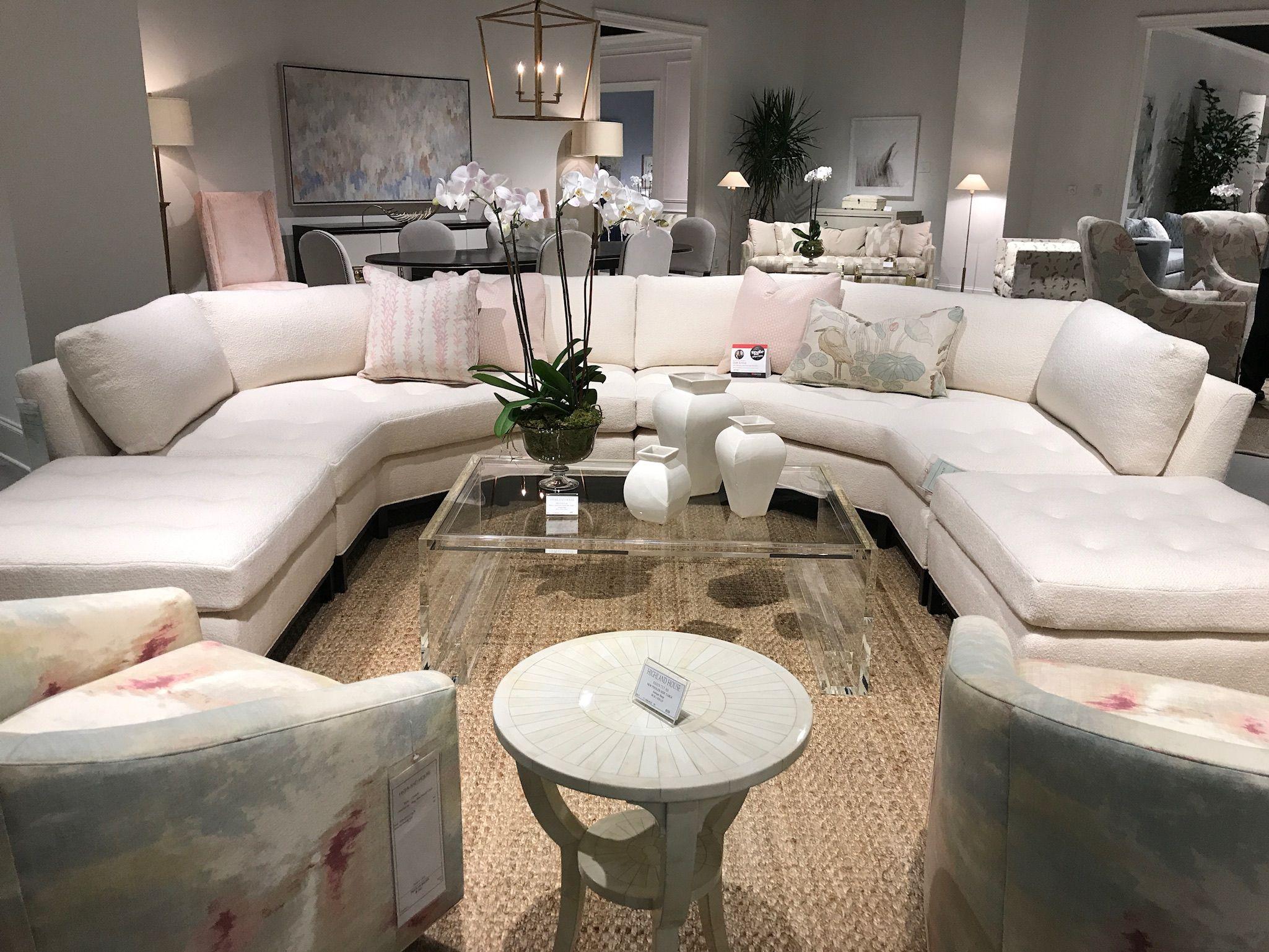 Sebastian Angled Sectional From Highland House Furniture Showroom