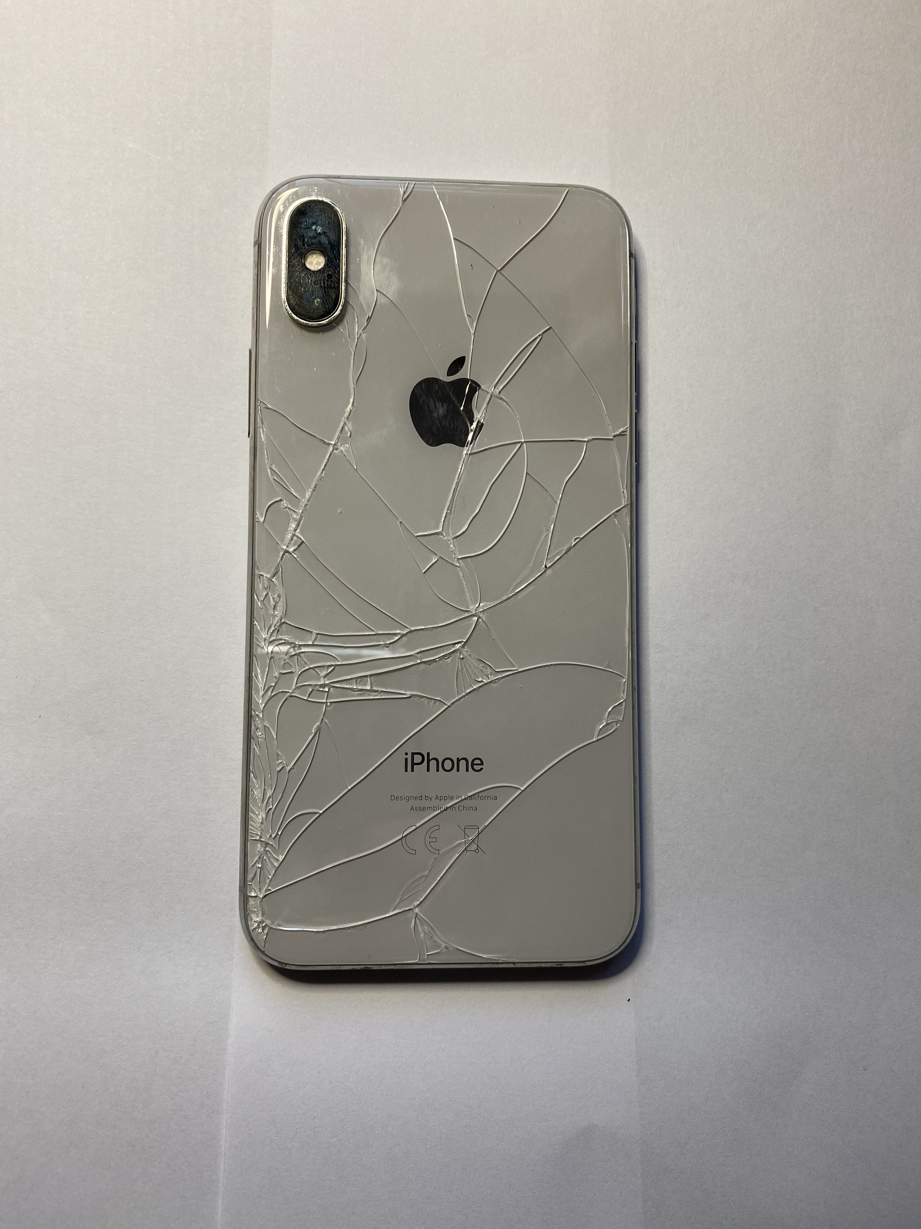 iPhone back cover replacement   Iphone glass, Cracked iphone ...