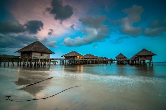 Telunas Beach Resort: View of Resort