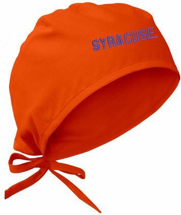 online store 1f4a2 5746b Syracuse University Orange Scrub Cap