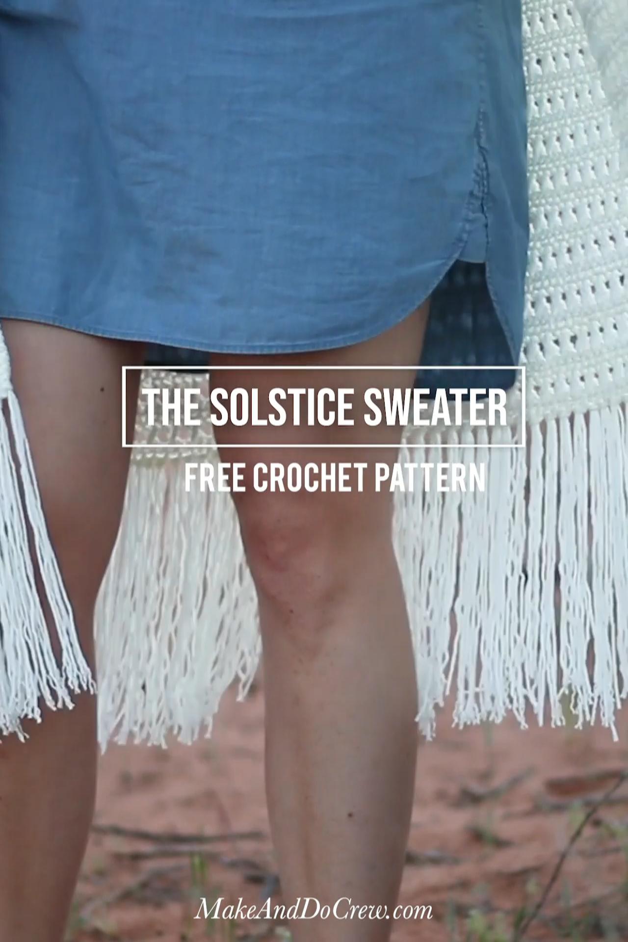 Photo of Easy Fringed Crochet Long Cardigan – Free Pattern