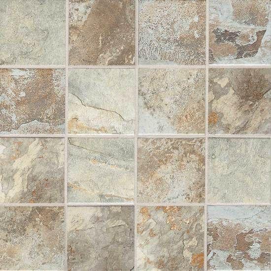 master bath floor kendal slate glazed porcelain tile american olean - Bathroom Tiles Kendal
