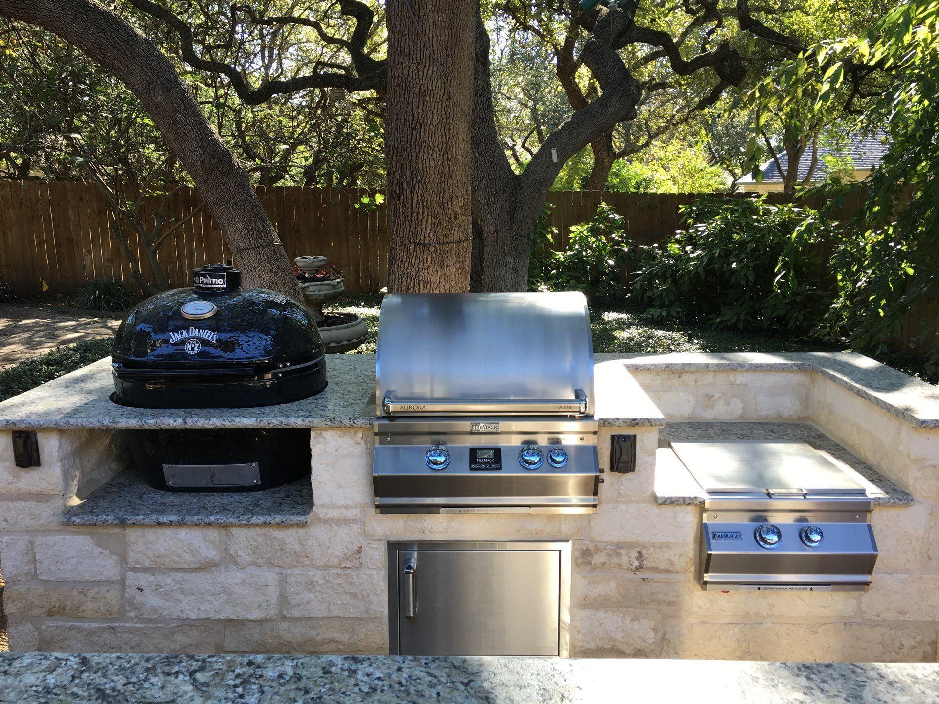 Barbecue Grills San Antonio Tx Outdoor Kitchens Fire Pits Inside Barbecue Kitchens Outdoors 16 Examples Of Barbecue Kitchens Outdoo Outdoor Kitchens Barbe