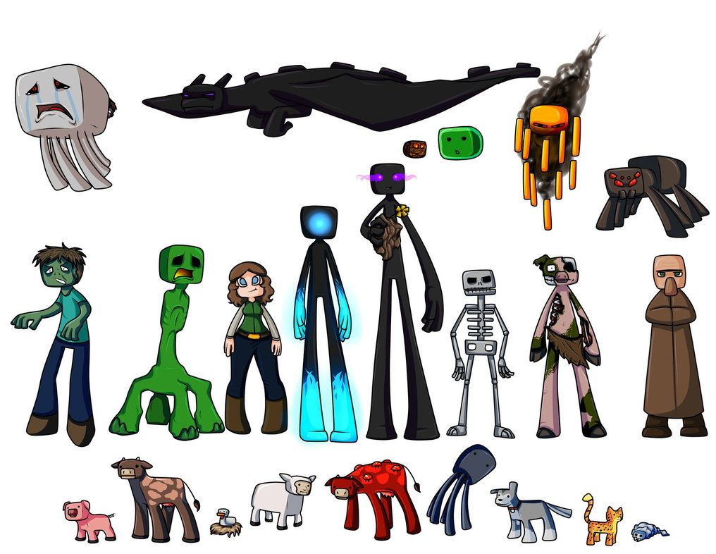 minecraft drawings   Draw ALL the Minecraft! by Textris92 ... for All Minecraft Characters  18lpqdu
