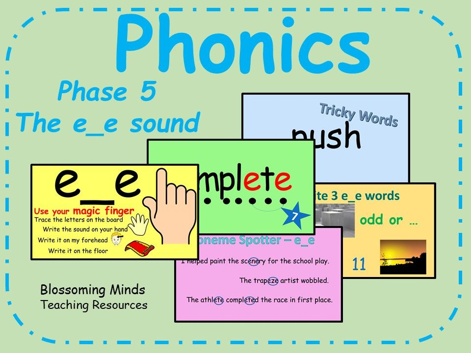 Printable Worksheets phonics worksheets phase 5 : Phonics phase 5 - Split digraph - The e_e sound | Phonics, Key ...