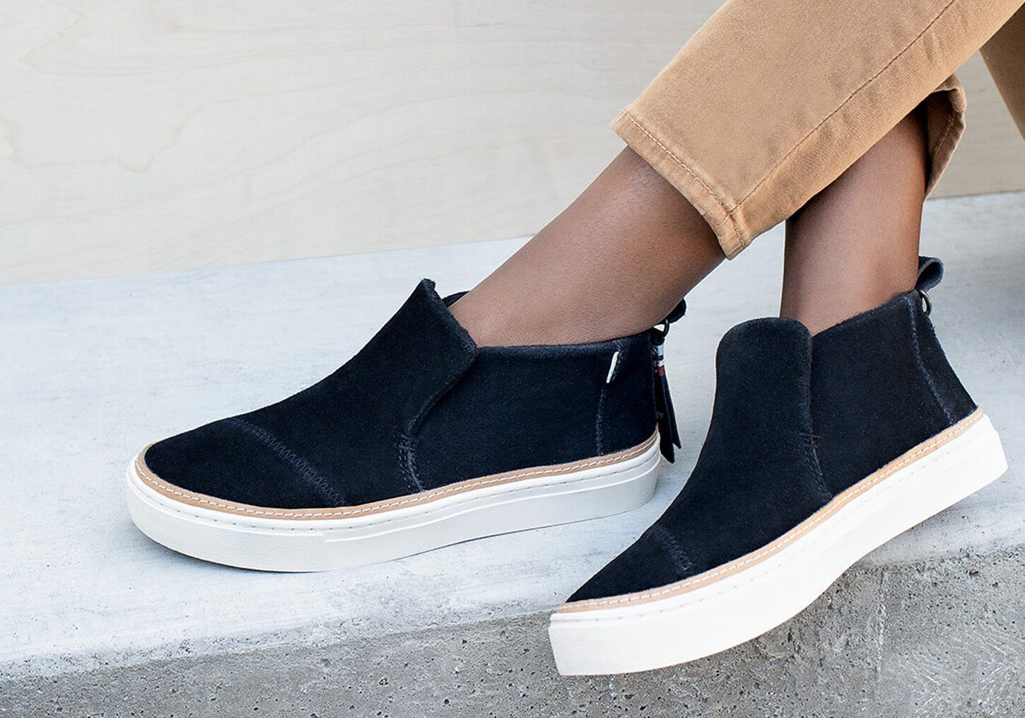Suede Women's Paxton Slip-Ons | TOMS