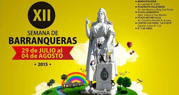 Barranqueras vive su semana cultural | http://www.territoriocultural.com/2015/07/barranqueras-vive-su-semana-cultural/