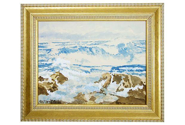 Seascape by William F. Relte on OneKingsLane.com