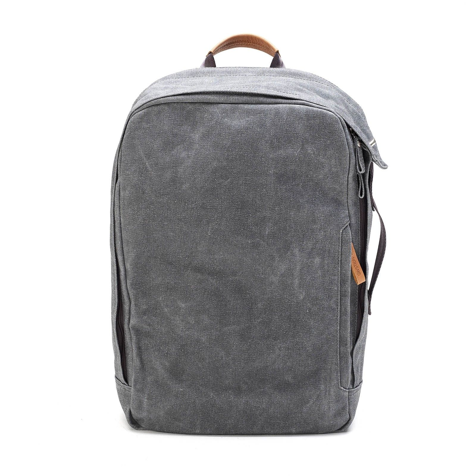 b1e7d31704 Qwstion   Washed grey backpack