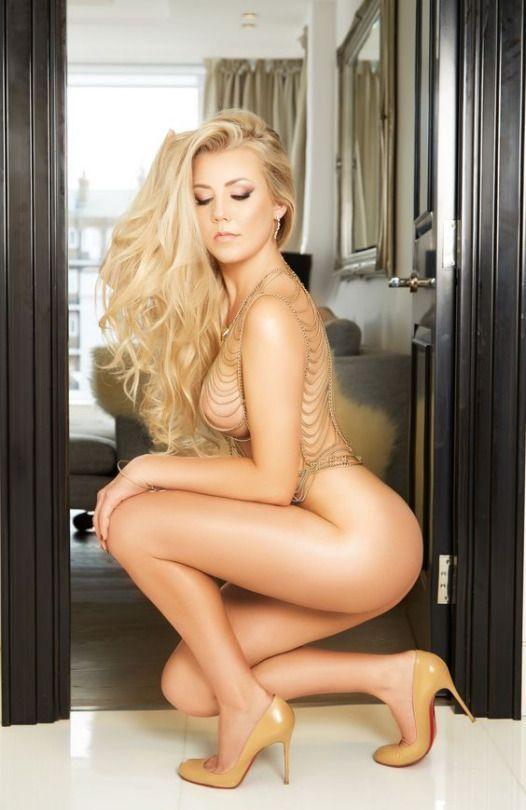 Blondes sexy legs