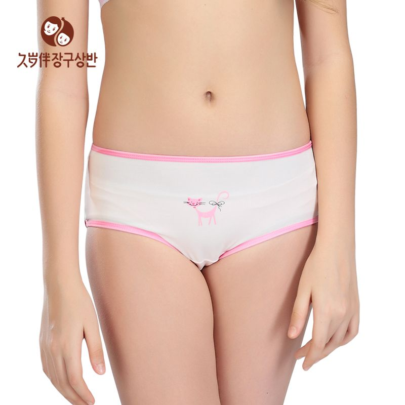 Summer Style Female Underwear Shorts Girls Kids Clothes Girl Panties Underpants Inner Pants Factory Direct Clothing A Piece 5008