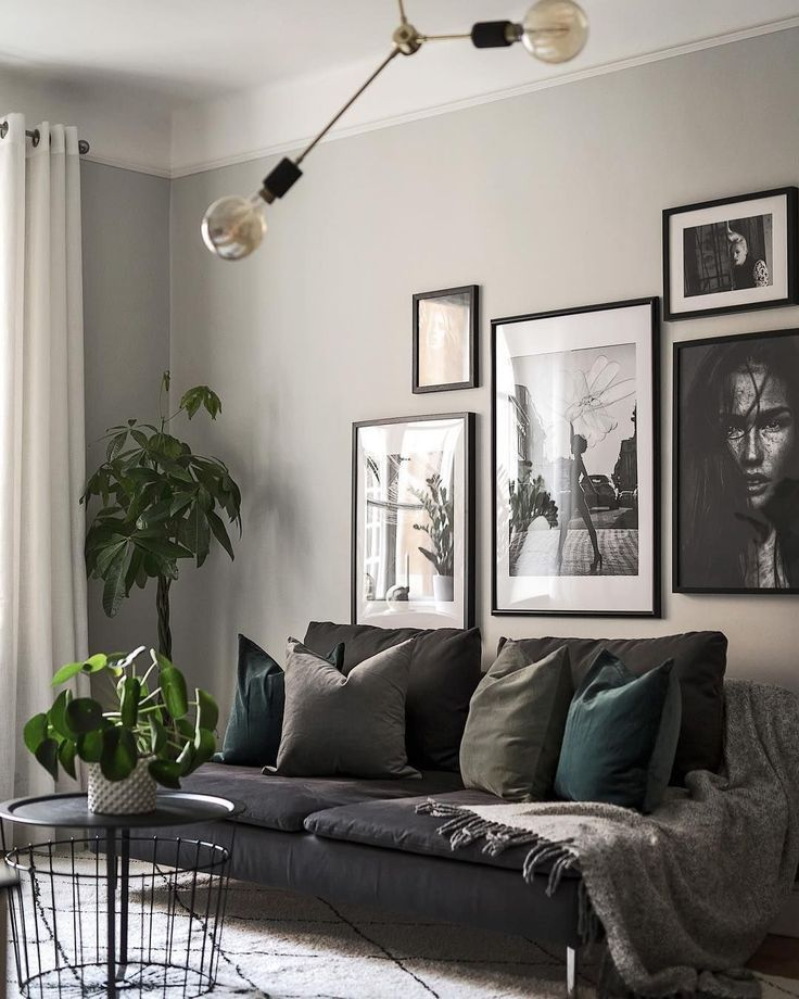 Very Small Living Room Design: 9 Dreamy Small Grey Living Rooms That Will Inspire You I