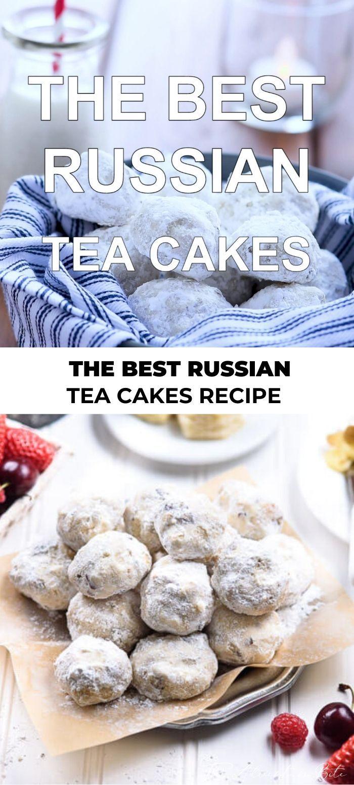 The Best Russian Tea Cakes Recipe in 2020 Russian tea