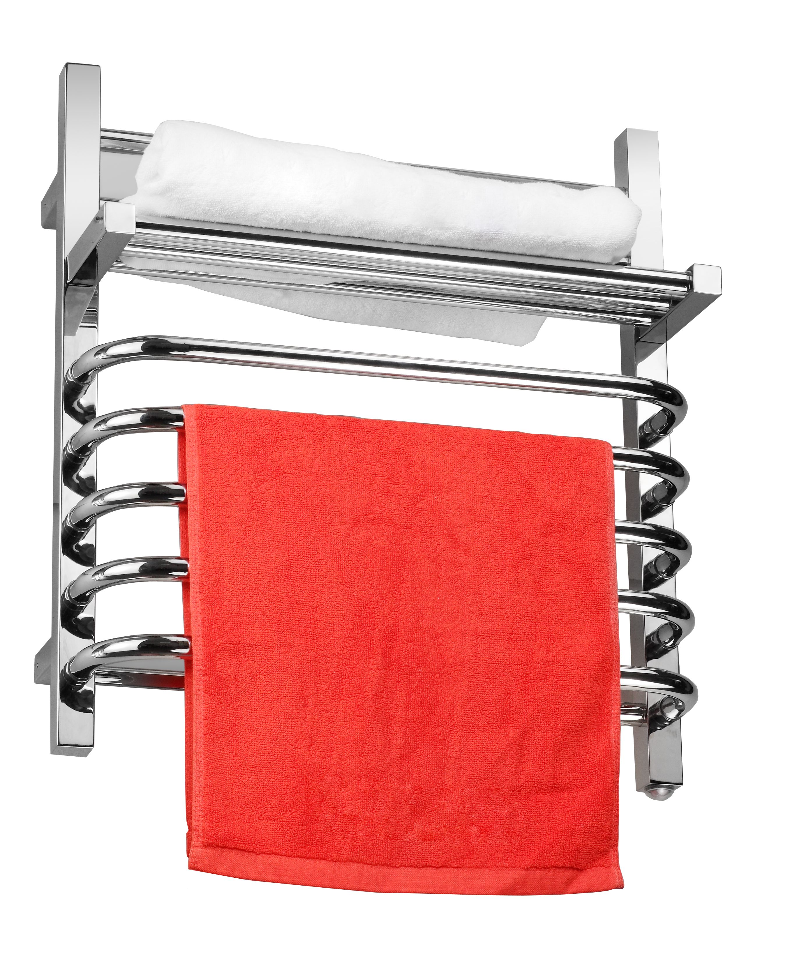 Electric towel warmer efficiently dry off soppy towels
