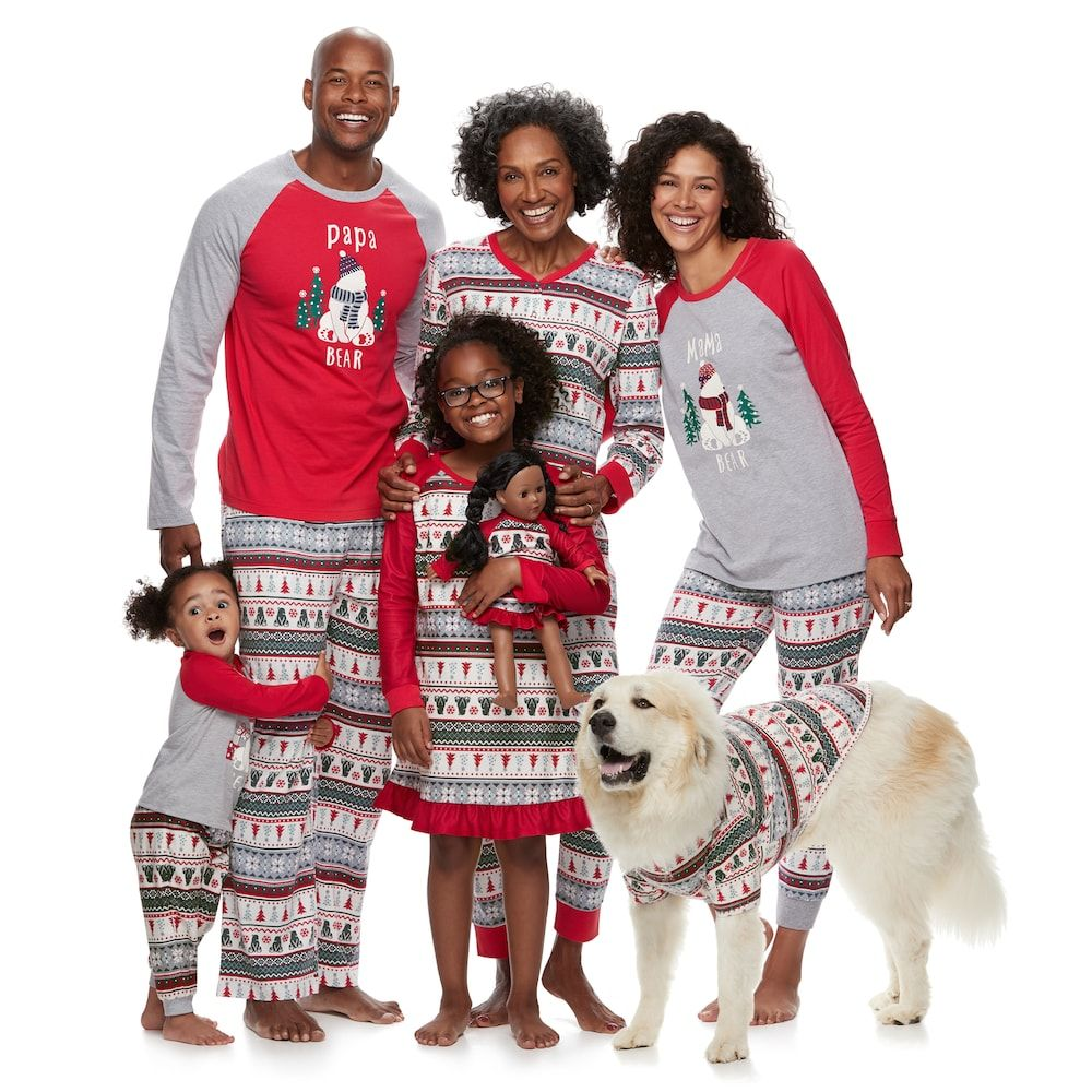 Bear family pajamas Matching christmas pajamas, Pajama