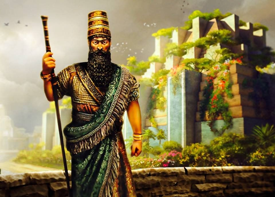 يعتقد ان من شيد مدينة بابل هو سرجون الاكدي القرن22 ق م ان من شيد برج بابل هو نارام سين 21 ق م اما سميراميس فقد ا Historical Painting Instagram Mesopotamia