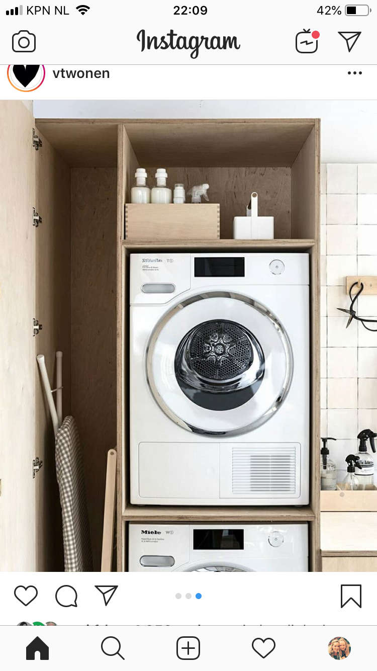 Kast Wasmachine En Droger Laundry Mud Room In 2019