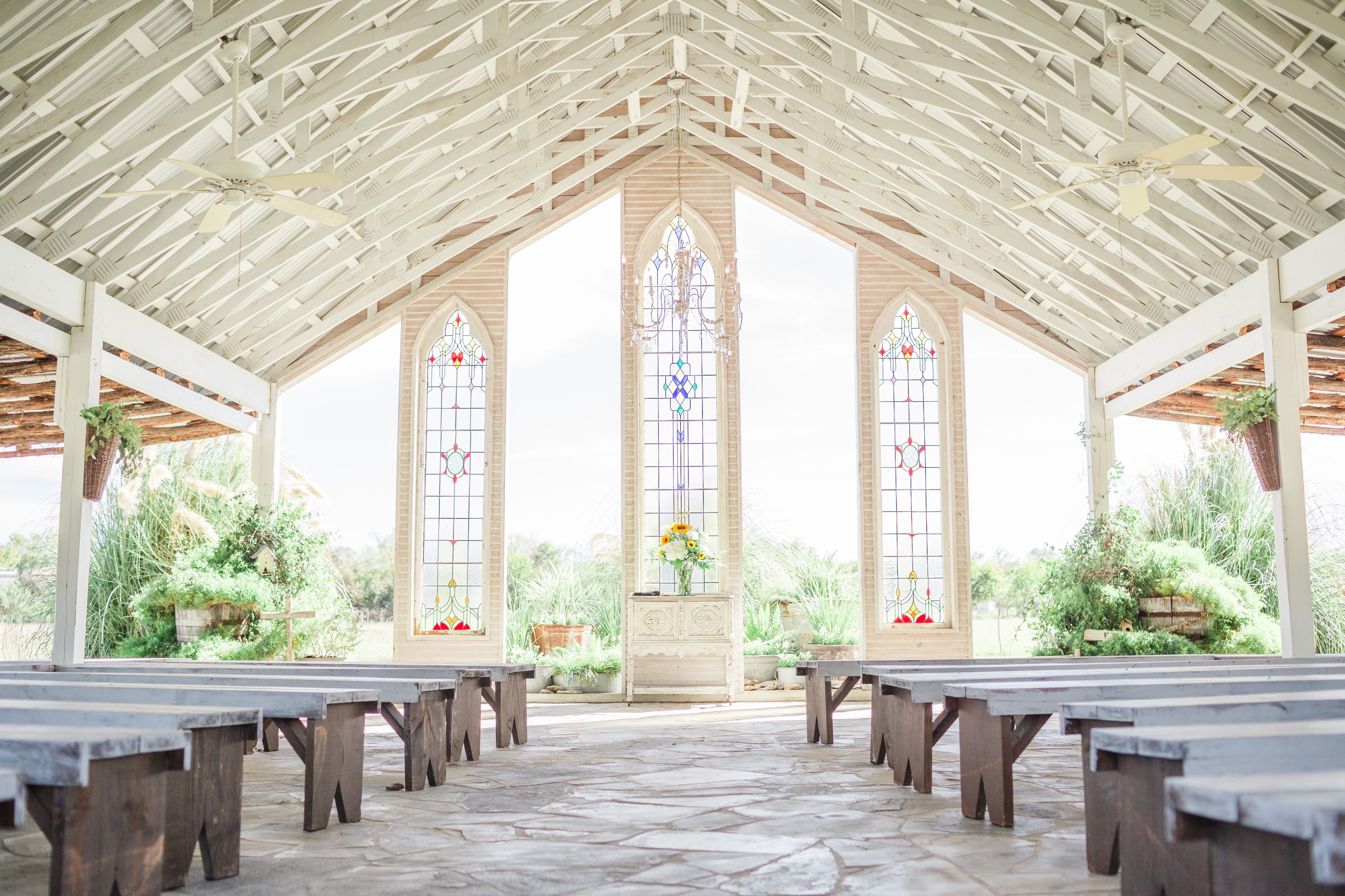 Austin Wedding Gruene Estate Open Air Chapel Outdoor