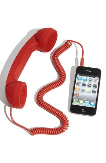 Native Union 'Pop Phone' Handset in Red