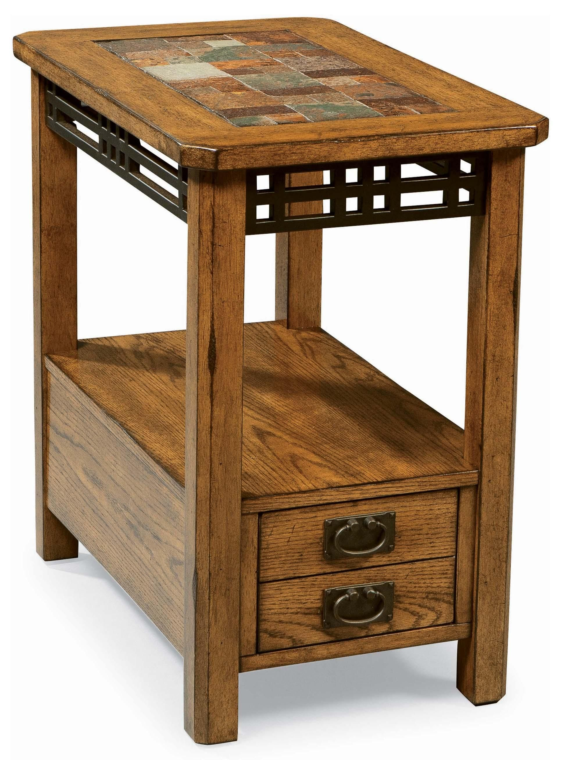 Best American Craftsman Chairside Table By Peters Revington 400 x 300