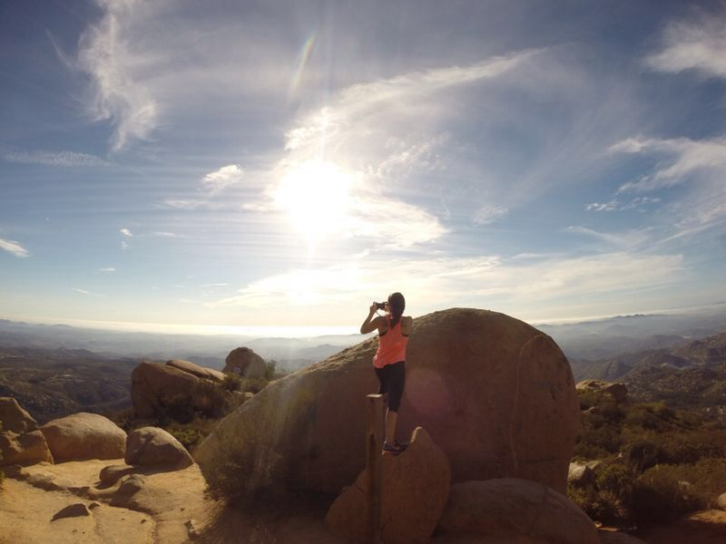 Mount Woodson trail Poway,CA