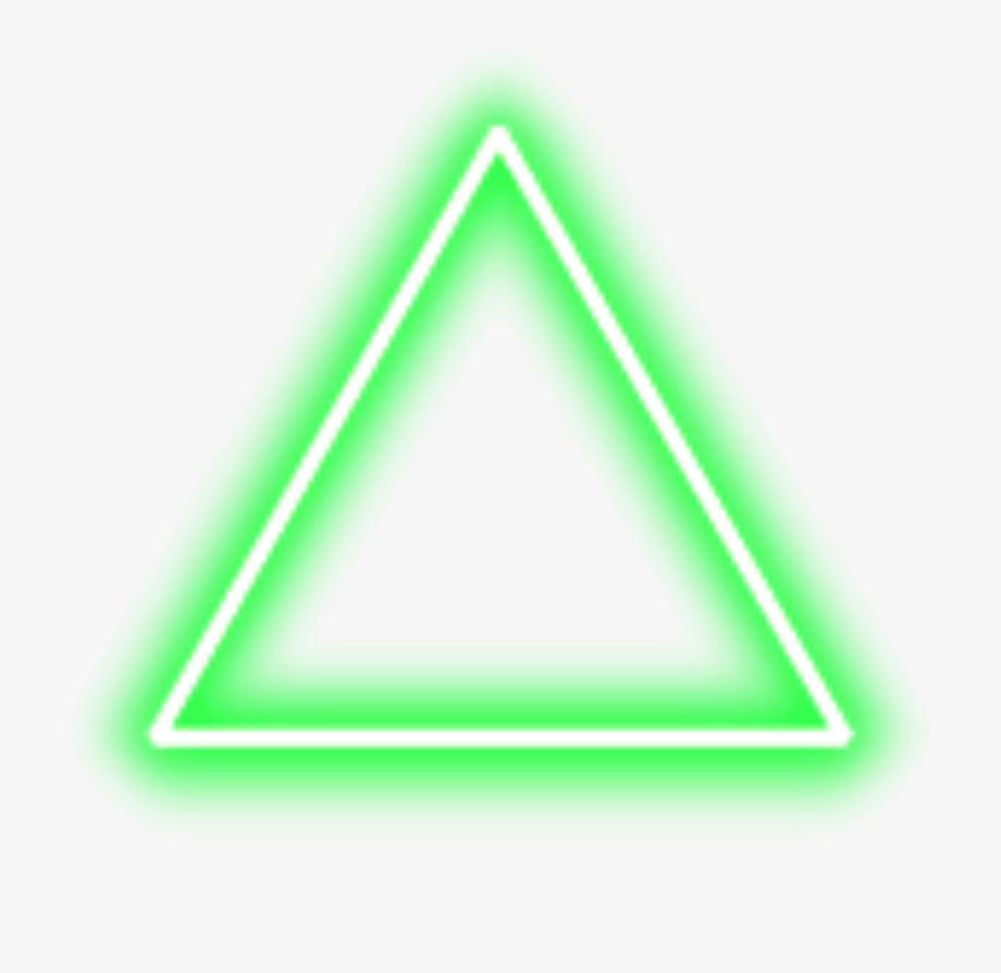 Green Neon Triangle Border Png Freetoedit Triangle Png For Picsart Free Unlimited Download On Clipartwiki To Search And Explore Neon Png Png Triangle