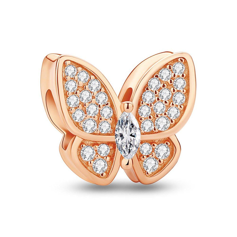 Glamulet jewelry womenus sterling silver fashion butterfly dream