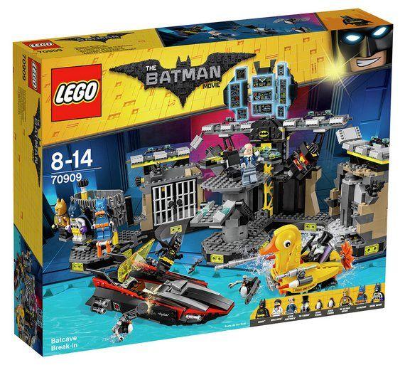 Buy LEGO Batman Movie Batcave Break-in - 70909 at Argos.co.uk ...