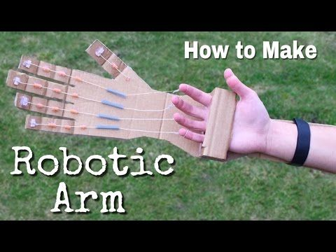 How To Make A Robotic Arm At Home Out Of Cardboard Incredible Idea Learn How To Make Robotic Arm Wi In 2020 Robot Arm Diy Christmas Gifts For Kids Easy Christmas Diy