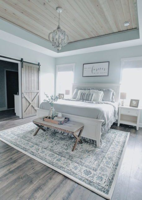 How to Create a Farmhouse Master Bedroom You will Love