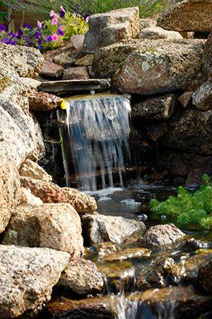 fantastic water feature Cascadas Pinterest Cascadas para