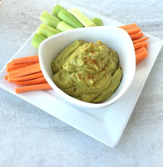 This Creamy Avocado Dip can be yours within five minutes, and the delicious creaminess of it is sure to please!