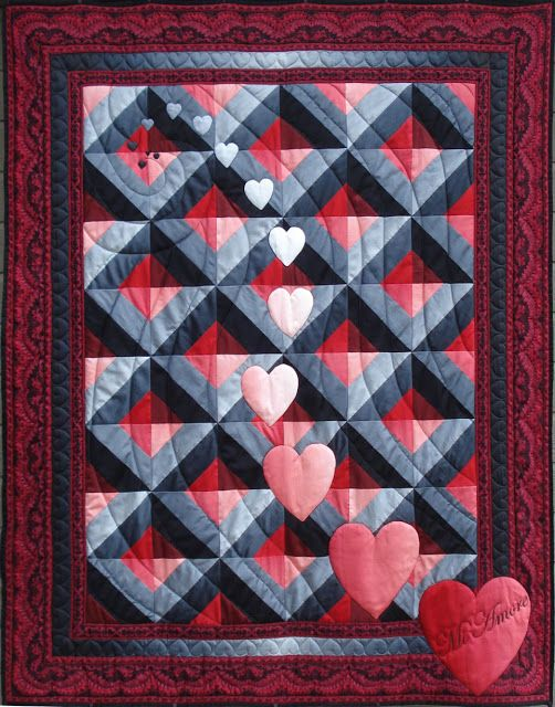 KISSed Quilts - Keeping It Simple and Stunning: Festival of HSTs