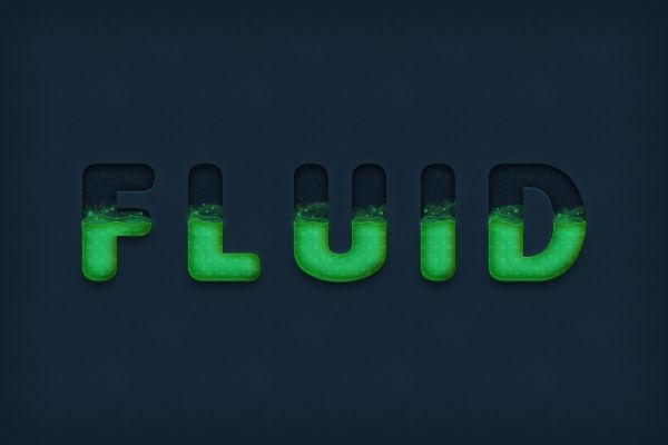 Photoshop Tutorial: Create a Dynamic Liquid Text Effect