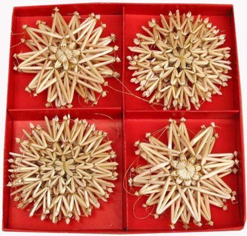 Scandinavian-Swedish-Norwegian-Danish-Straw-Christmas-Ornaments-16-pc-bx-62 - Scandinavian Swedish Norwegian Danish Straw Christmas Ornaments 16