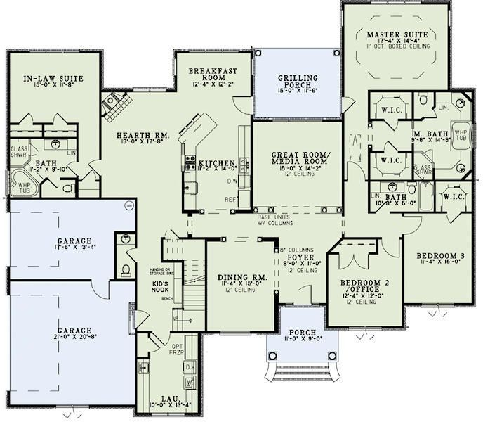 Impressive Home Plans With Inlaw Suites 8 House With In Law Suite