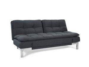 Boca Convertible Sofa Bed Charcoal By