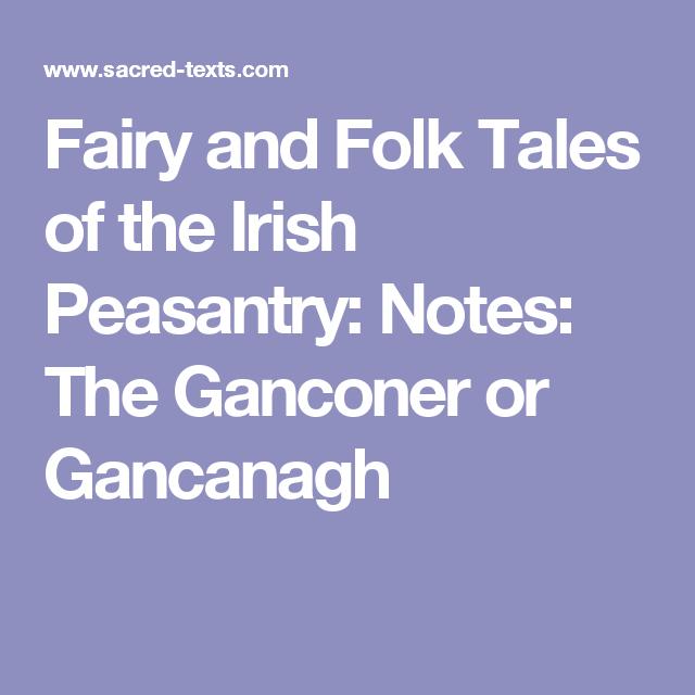The Tale of an Irish Peasant