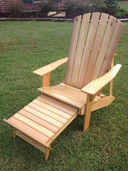 Charmant Cypress Adirondack Chair