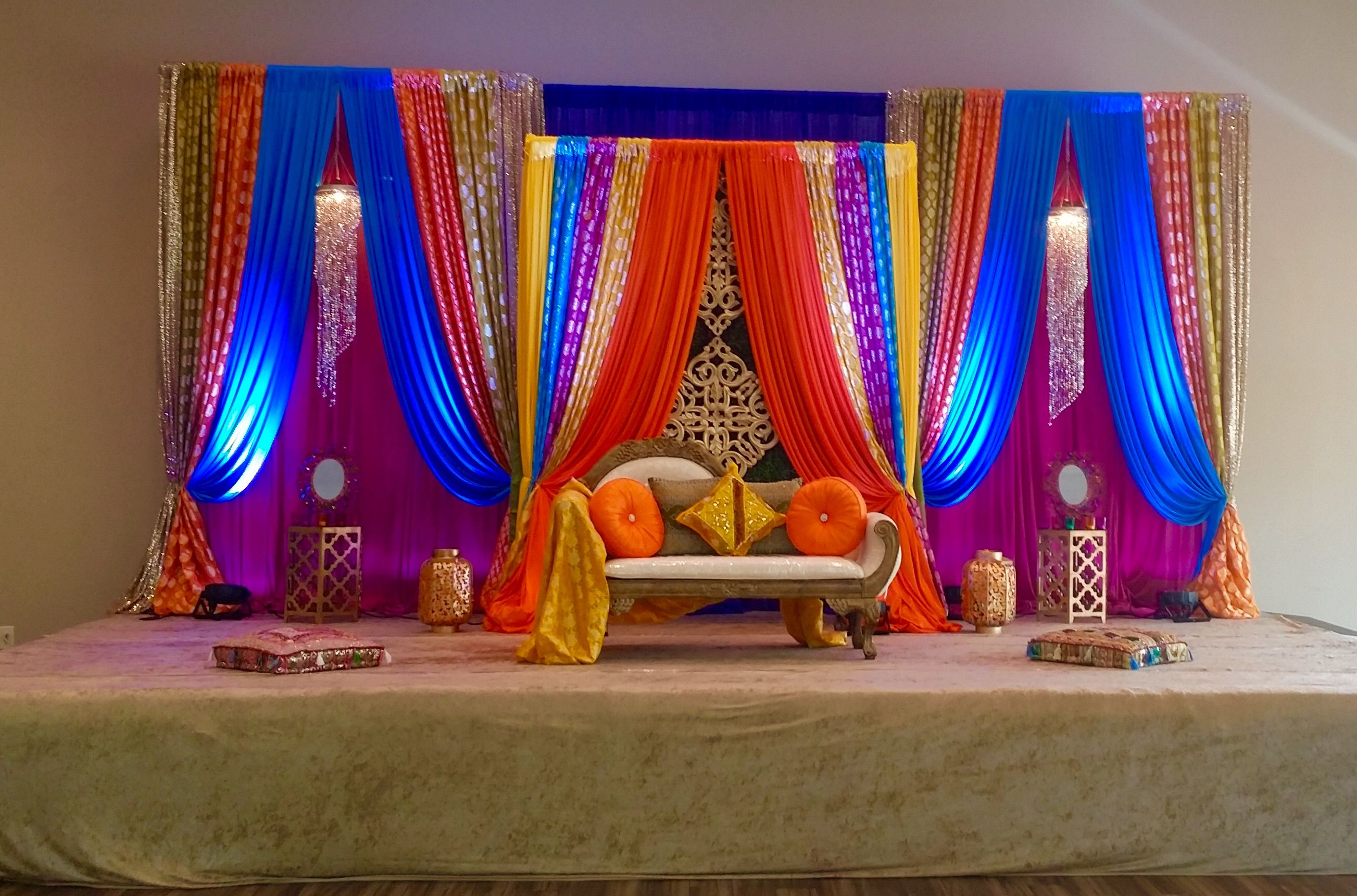 Sangeet Mehandi Pithi Decor Www Finishingtouchdecor