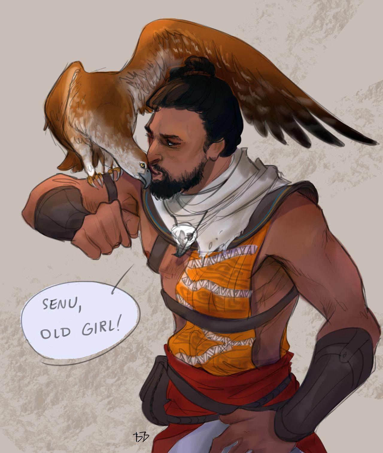 Bayek Senu Assassin S Creed Origins Assassins Creed Art