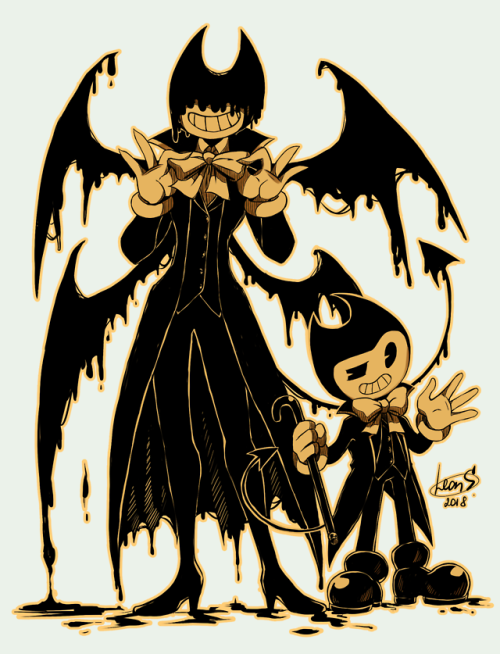 Ink Demon Tumblr Bendy And The Ink Machine Character Art Anime
