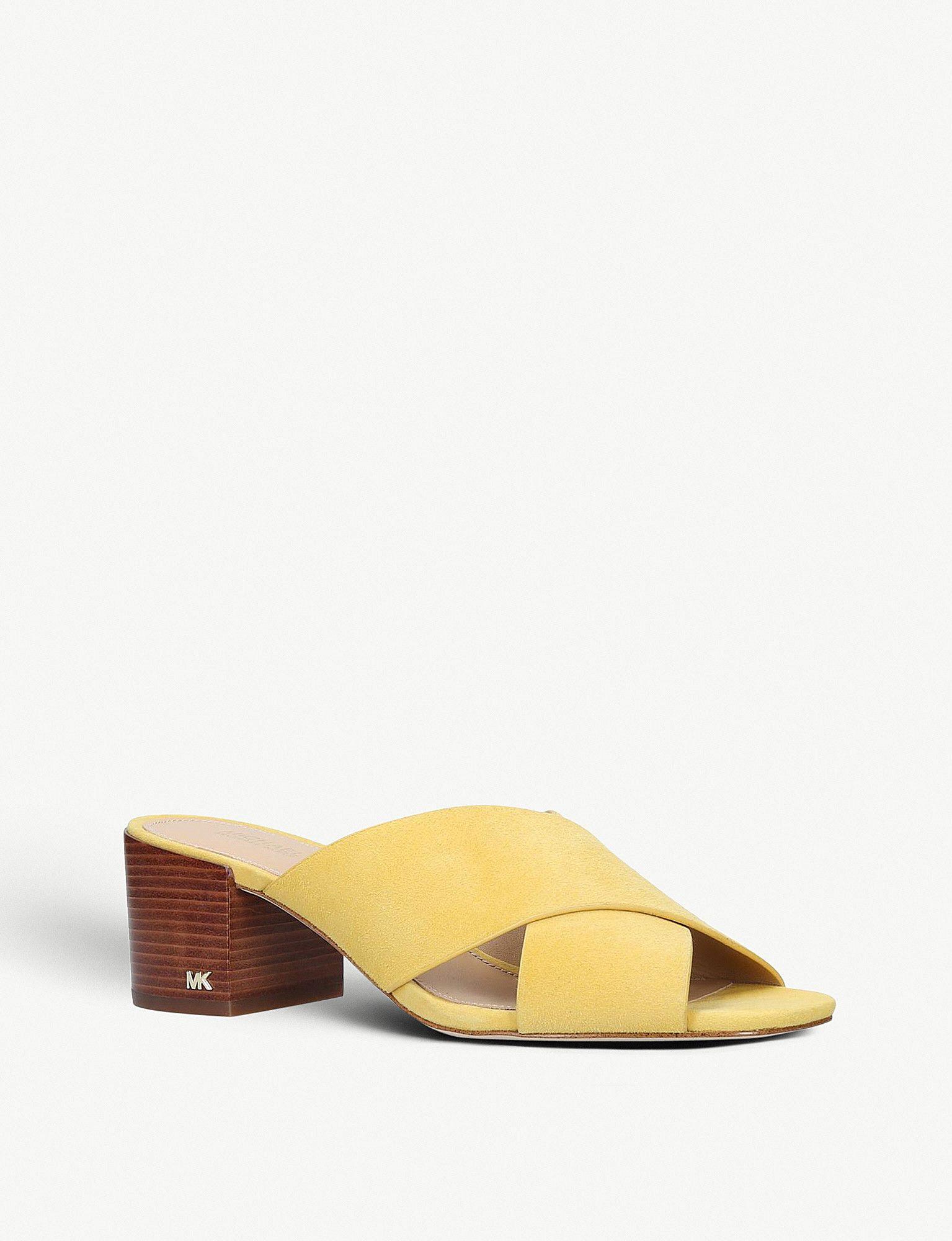70899aba95e MICHAEL MICHAEL KORS - Abbott leather mules | Selfridges.com | All ...