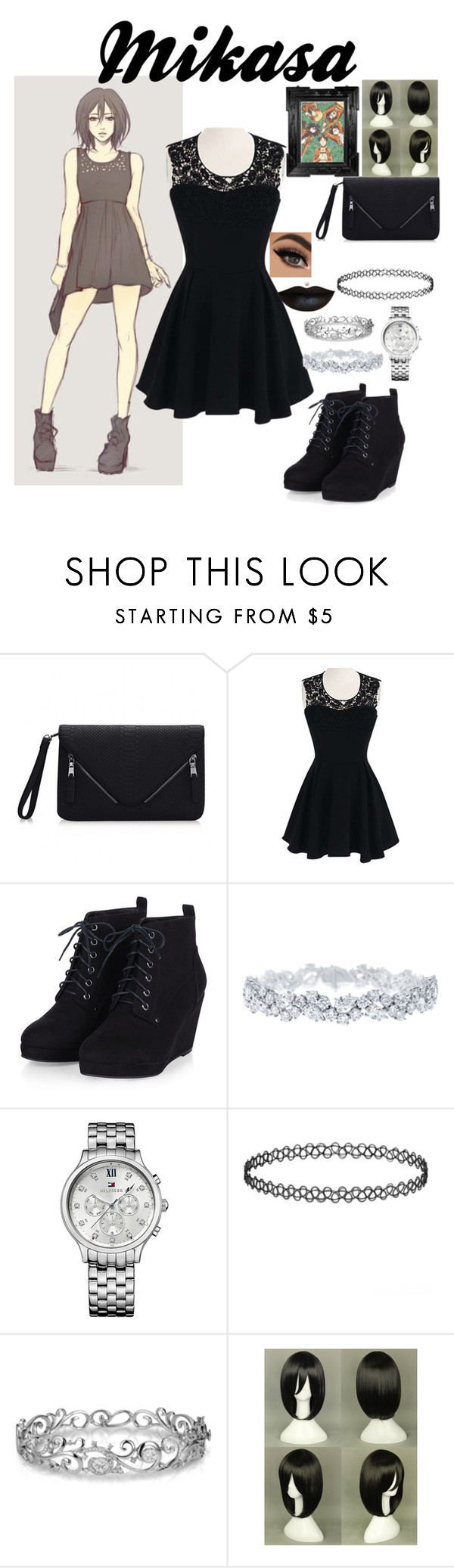 """""""Mikasa"""" by women-of-justice ❤ liked on Polyvore featuring Mikasa, Harry Winston, Tommy Hilfiger and Effy Jewelry"""