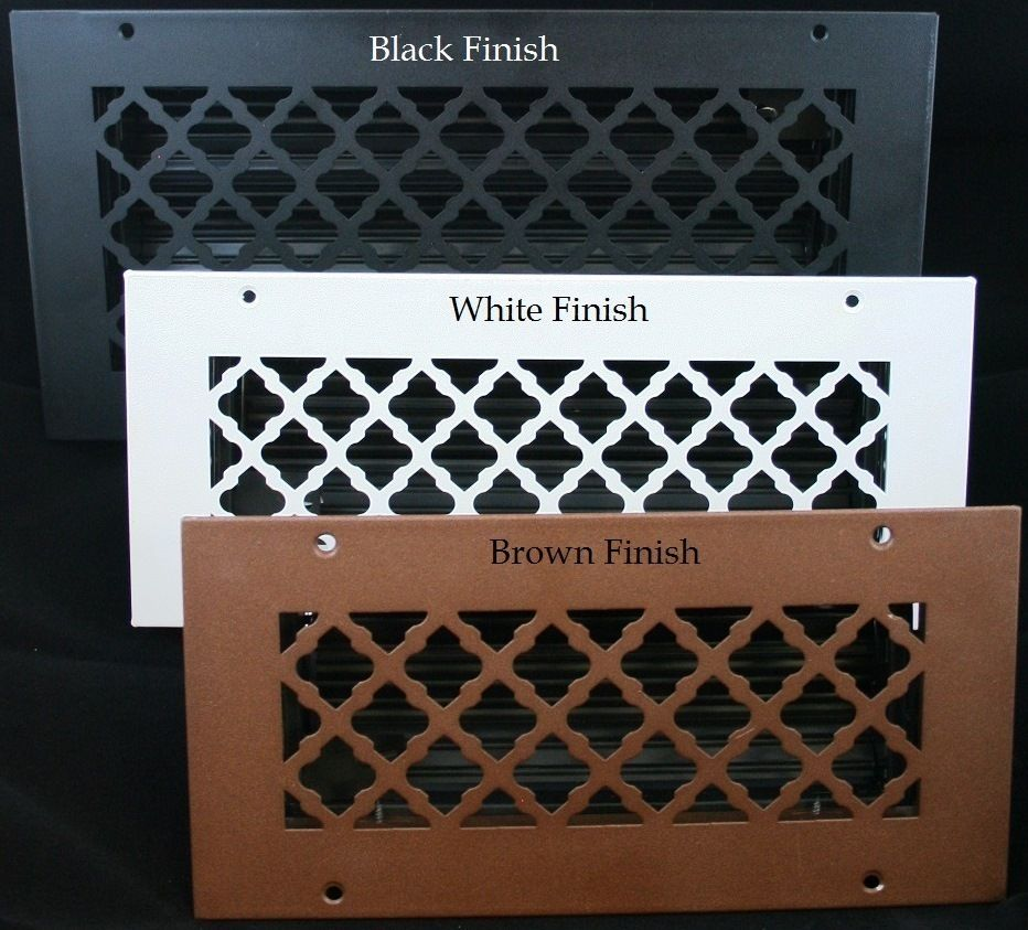 20 x 14 Bronze Series Return Air Filter Frame Vent