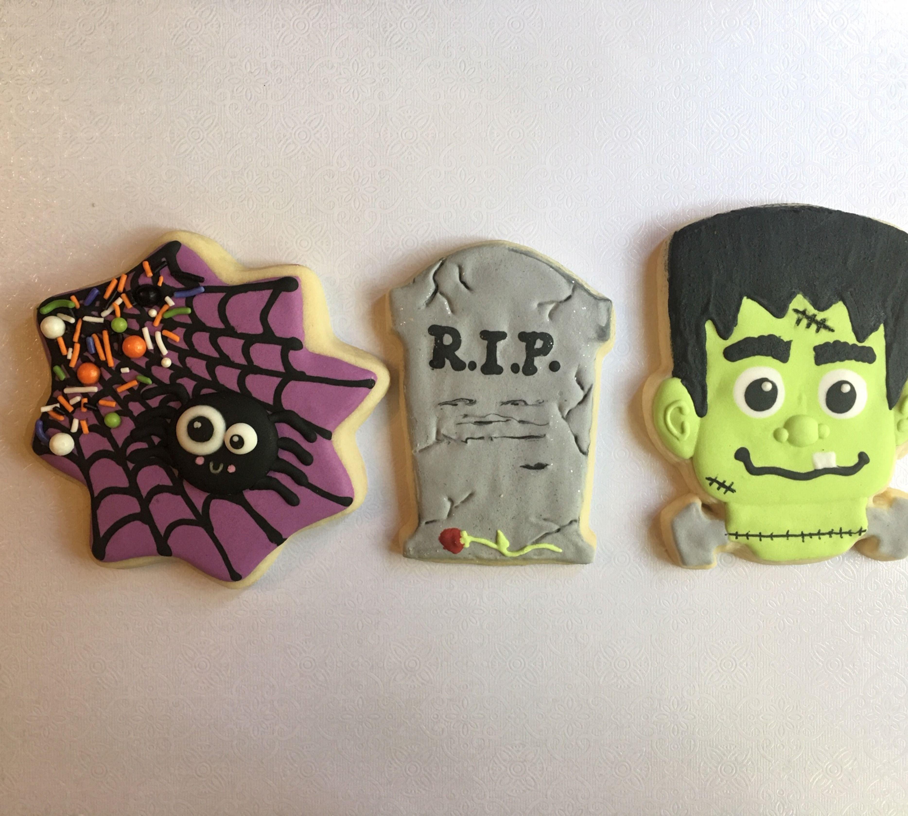 Custom Halloween Cookies Buy Now!! | Custom cookies, Halloween