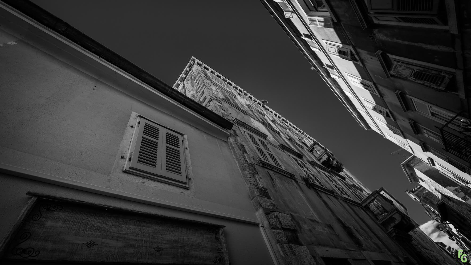 Haus Von Schwarz Und Weiß