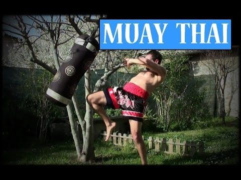 MUAY THAI - BOXING : Power Shots ! - YouTube